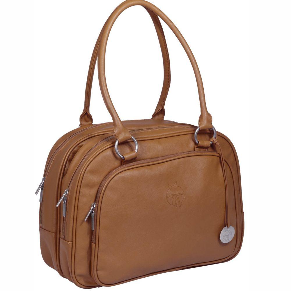 Lässig Wickeltasche Tender Multizip Bag - Solid Cognac
