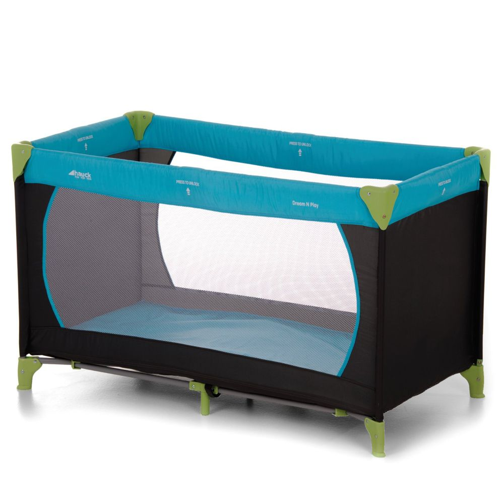 Hauck Reisebett Dream'n Play - Water blue