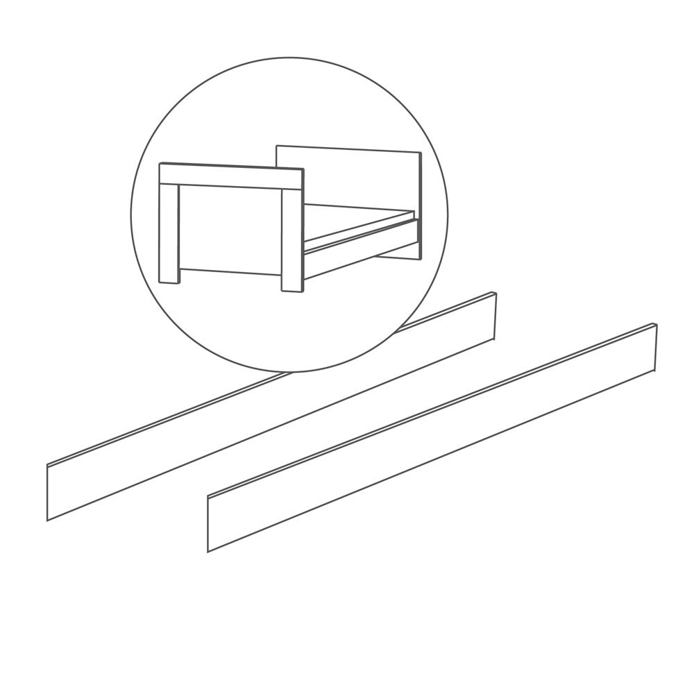 Roba Umbauseiten für Kinderbett 70x140
