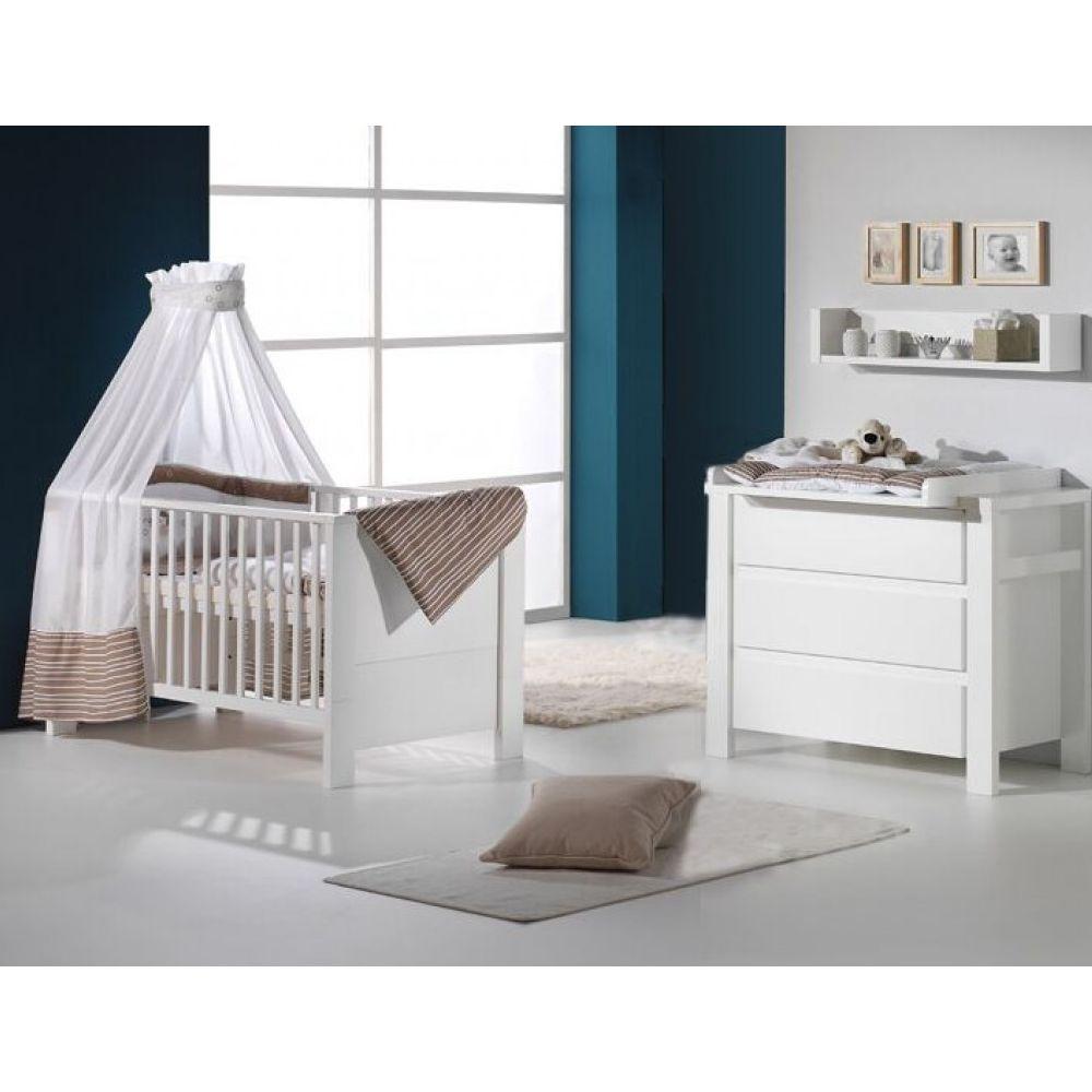 Schardt Sparset Kinderzimmer - Milano Weiß
