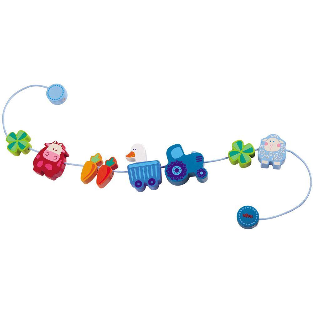 Haba Kinderwagenkette - Muh & Mäh