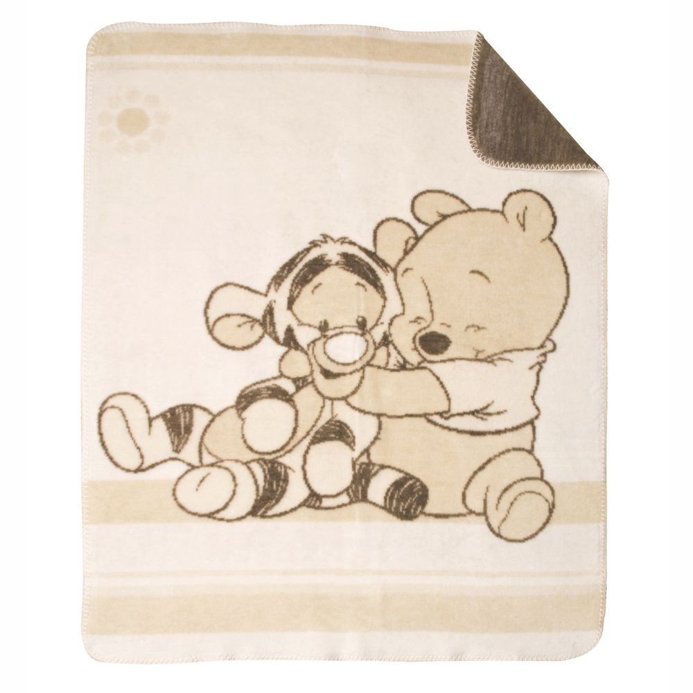 Julius Zöllner Jacquard Decke Pooh and Tigger