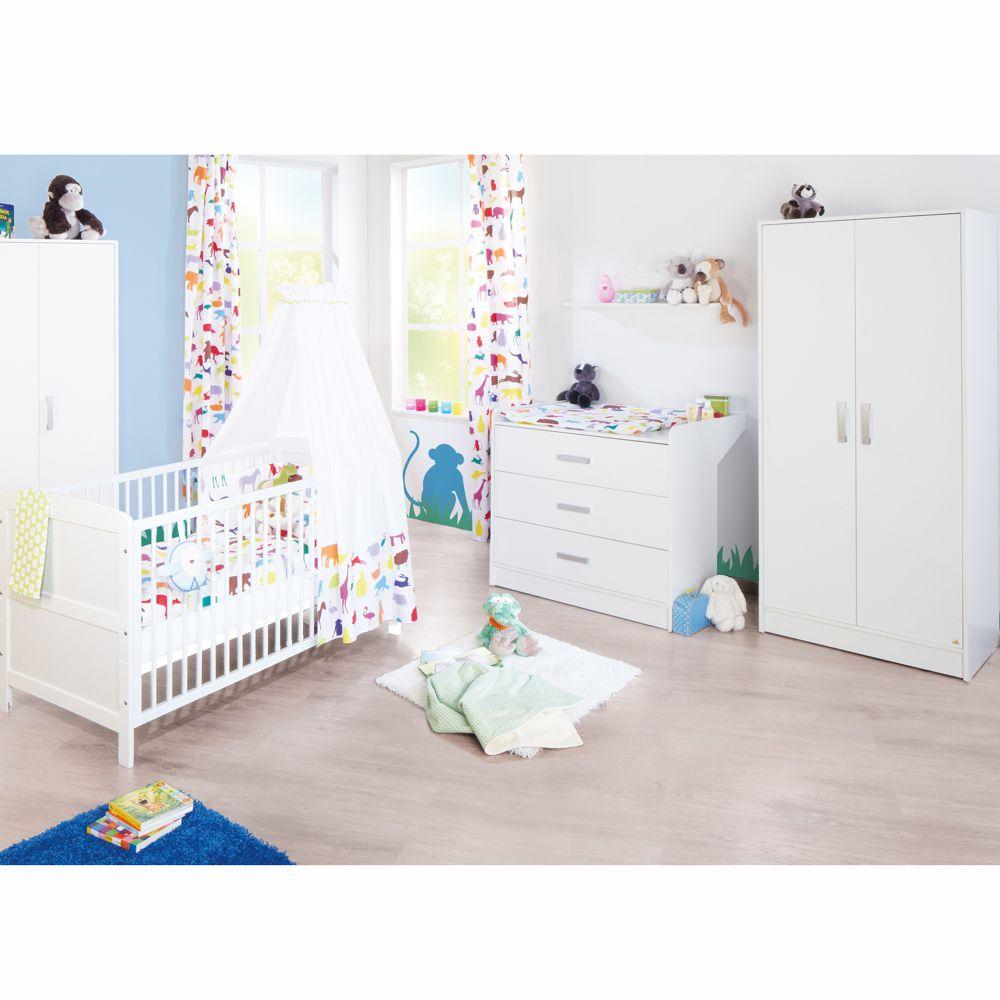Pinolino Komplett Kinderzimmer VIKTORIA breit 3-tlg.