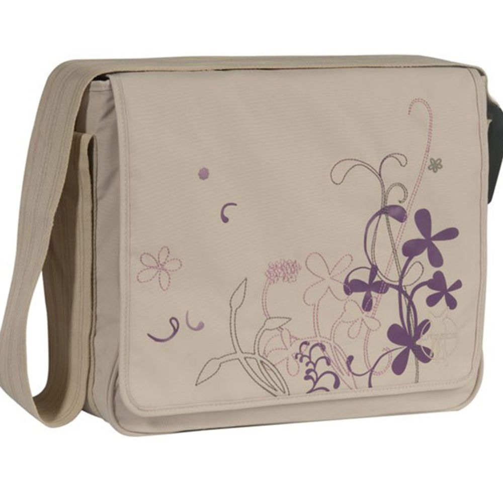 Lässig Wickeltasche Casual Messenger Bag - Field beige