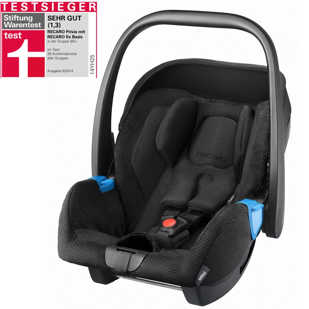Recaro Babyschale Privia - Black