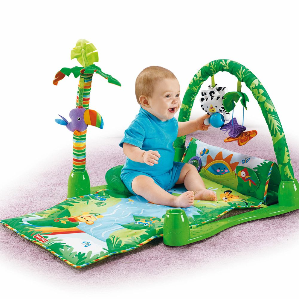 Fisher Price - Rainforest 1-2-3 Musical Gym